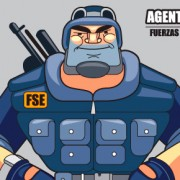 """Agente Martínez"" Character Design (animated movie project for kids)"