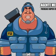 """Agente Mendoza"" Character Design (animated movie project for kids)"