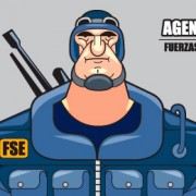 """Agente Sanchez"" Character Design ( animated movie project for kids)"