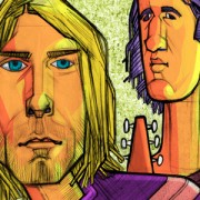 """Nirvana: Nevermind"" Illustration Published By Marvin Magazine in Mexico City."