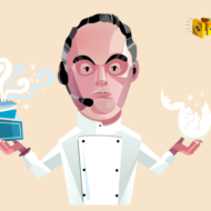 """Chef Ferran Adriá"" Illustration Commissioned By Infographicworld in NY City."