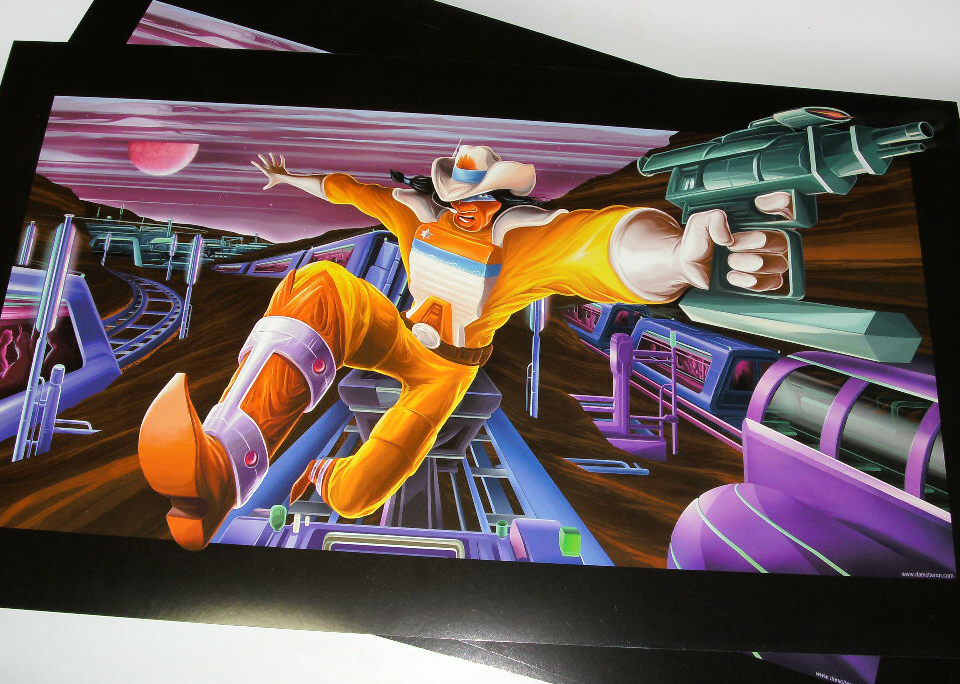 "Bravestarr ""The chase"" Posters."