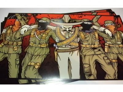 """""""Zapata y Los Zapatistas"""" Posters."""