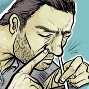 """""""Oxy Abuse"""" Illustration Commissioned By Infographicworld in NY City."""