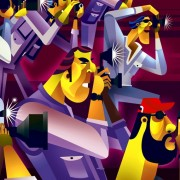 """""""Paparazzis"""" Commissioned by Mural Magazine in Guadalajara Méx."""