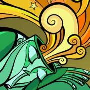 Sueños Eróticos. Conceptual illustration featured in Golpeavisa illustration fridays.
