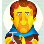 """""""Weird Saints"""" Illustrations Commissioned By Infographicworld in NY City."""