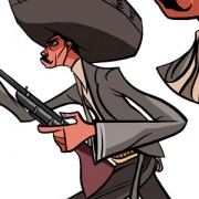 """General Zapata"" Character Design for a Mexican Animation Project"