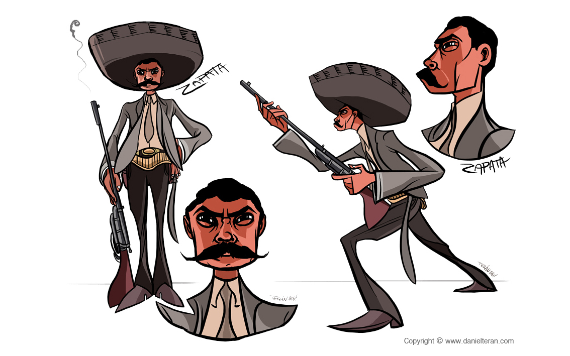 Character Design For Animation : Character design daniel teran
